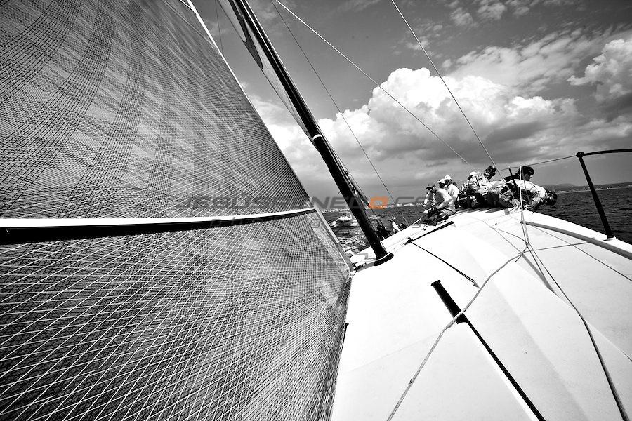 TP 52 MATADOR, APRIL THE 12TH,training for Hublot Palmavela in the bay of Palma.