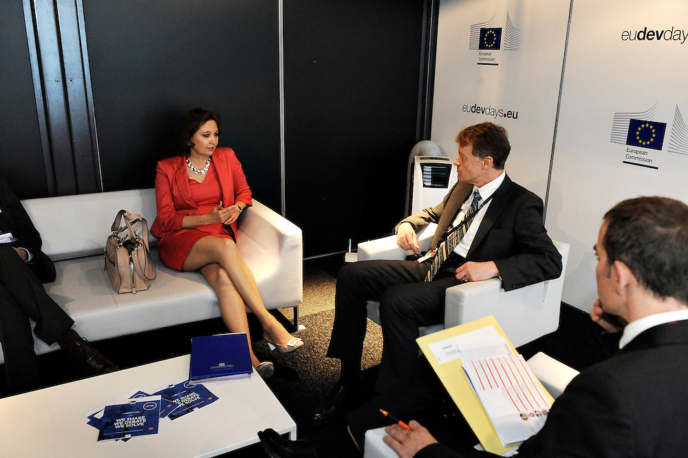 20150604- Brussels - Belgium - 04 June2015 - European Development Days - EDD  - Agnes Kalibata  AGRA and Jean Pierre Halkin Devco © EU/UE