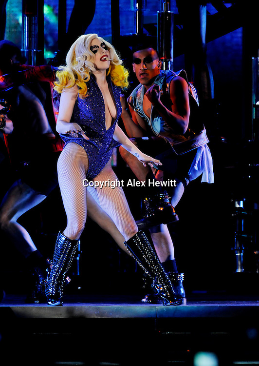 Lady GaGa in concert at Glasgow's SECC as part of her Monster Ball World Tour..Picture by Alex Hewitt.07789 871 540.alex.hewitt@gmail.com