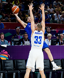 Ariel Filloy of Italy during basketball match between National Teams of Finland and Italy at Day 10 in Round of 16 of the FIBA EuroBasket 2017 at Sinan Erdem Dome in Istanbul, Turkey on September 9, 2017. Photo by Vid Ponikvar / Sportida
