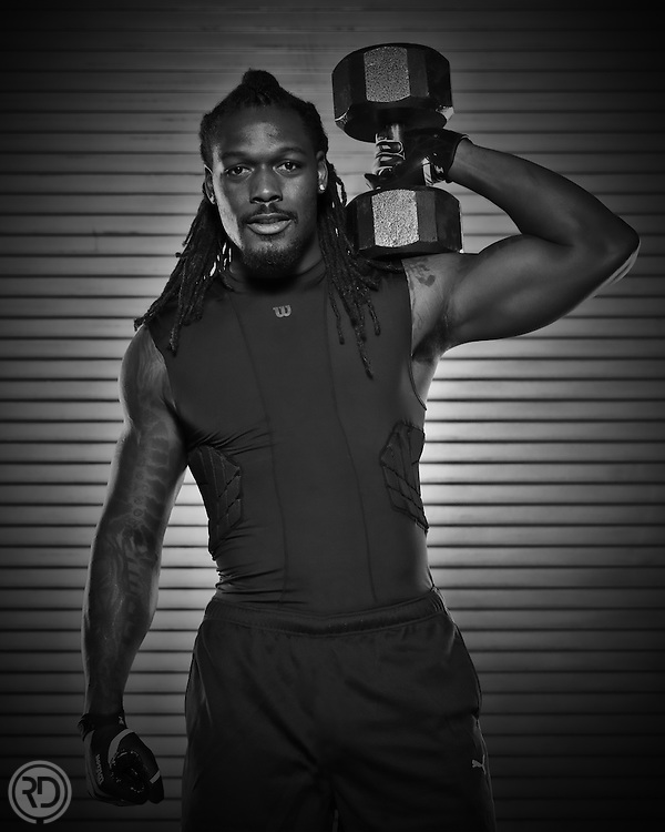Jadeveon Clowney Shoot<br /> October 15, 2014<br /> NRG Stadium<br /> Houston, TX<br /> <br /> Photograph &copy;&nbsp;Ross Dettman