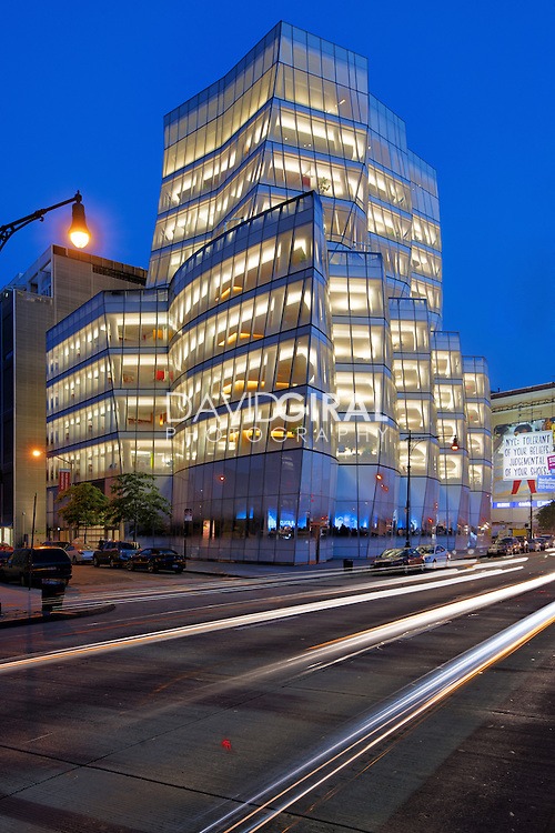 Architecture Photography NYC: IAC Building by architect Frank Ghery, New York City, Chelsea, USA