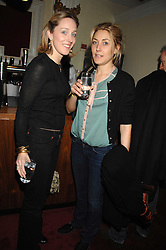 Left to right, KATE PAKENHAM and DIXIE CHASSAY at the Grand Classic screening of The Apartment held at The Electric Cinema, 191 Portobello Road, London on 16th March 2008.<br />