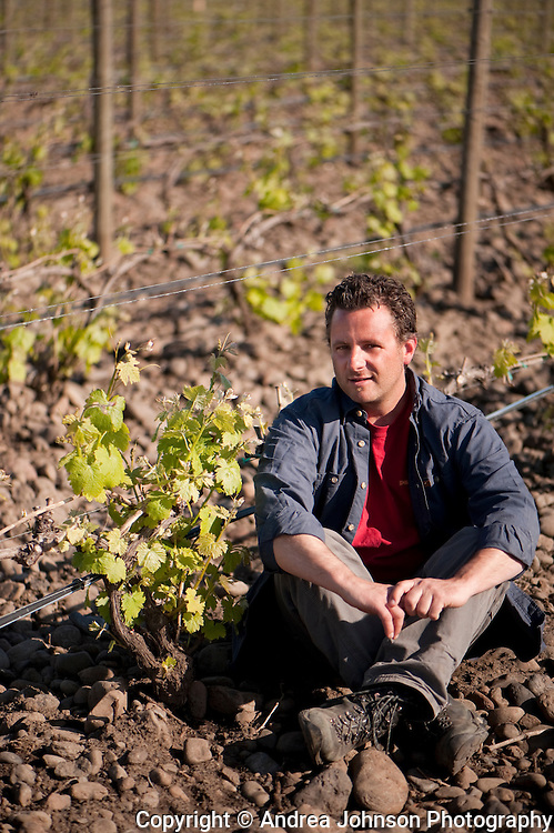 Christopher Baron, Cayuse winemaker, the first domaine in Walla Walla, Washington to farm using biodynamic methods