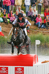 Thomsen Peter (GER) - Horseware's Cayenne <br /> Cross<br /> HSBC FEI European Championships Eventing - Malmö 2013<br /> © Dirk Caremans