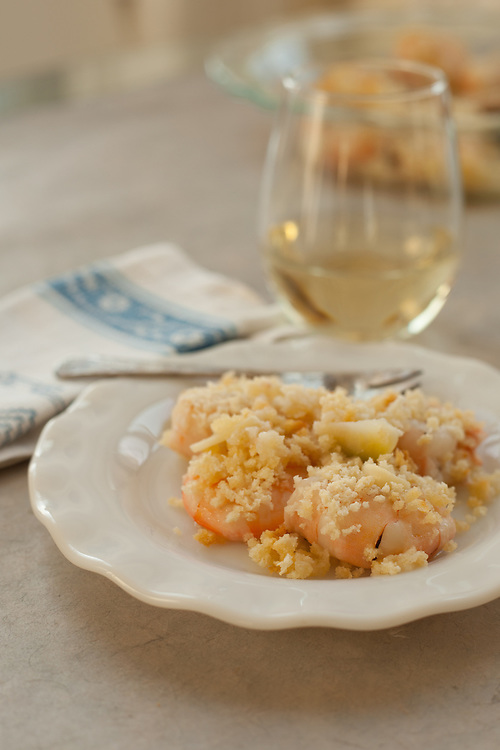 Baked shrimp with only 5 ingredients