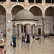Courtyard of Umayyad Mosque, Damascus