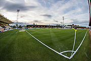 The Cambs Glass Stadium, home of Cambridge United during the EFL Sky Bet League 2 match between Cambridge United and Forest Green Rovers at the Cambs Glass Stadium, Cambridge, England on 2 October 2018.