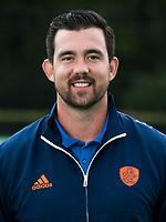 UTRECHT - krachttrainer Matthew Eyles.   Trainingsgroep Nederlands Hockeyteam dames in aanloop van het WK   COPYRIGHT  KOEN SUYK