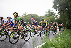 Clara Koppenburg (GER) of Cervélo-Bigla Cycling Team digs deep on the last main climb of the 76,1 km first stage of the 2016 Ladies' Tour of Norway women's road cycling race on August 12, 2016 between Halden and Fredrikstad, Norway. (Photo by Balint Hamvas/Velofocus)