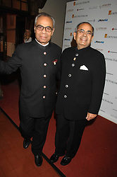 Left to right, SRICHAND HINDUJA and GOPICHAND HINDUJA at the 2nd Fortune Forum Summit and Gala Dinner held at the Royal Courts of Justice, The Strand, London on 30th November 2007.<br /><br />NON EXCLUSIVE - WORLD RIGHTS