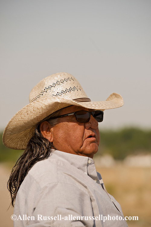 Henry Real Bird, Crow Indian, Poet, Author, Elder, Bucking Horse Contractor, Crow Indian Reservation, Montana