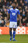 Birmingham City midfielder Jacques Maghoma (19)  during the EFL Sky Bet Championship match between Birmingham City and Brentford at St Andrews, Birmingham, England on 29 December 2018.
