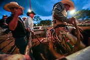Rodeo show at the Uvalde County Fairplex