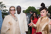 LADY FOSTER, SIR DAVID ADJAYE, EVA FRENCH, The Serpentine Party pcelebrating the 2019 Serpentine Pavilion created by Junya Ishigami, Presented by the Serpentine Gallery and Chanel,  25 June 2019