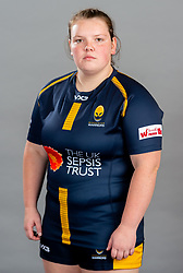 Georgia Rossi during the Worcester Warriors Women Media Day - Ryan Hiscott/JMP - 28/09/2019 - SPORT - Sixways Stadium - Worcester, England - Worcester Warriors Women Media Day