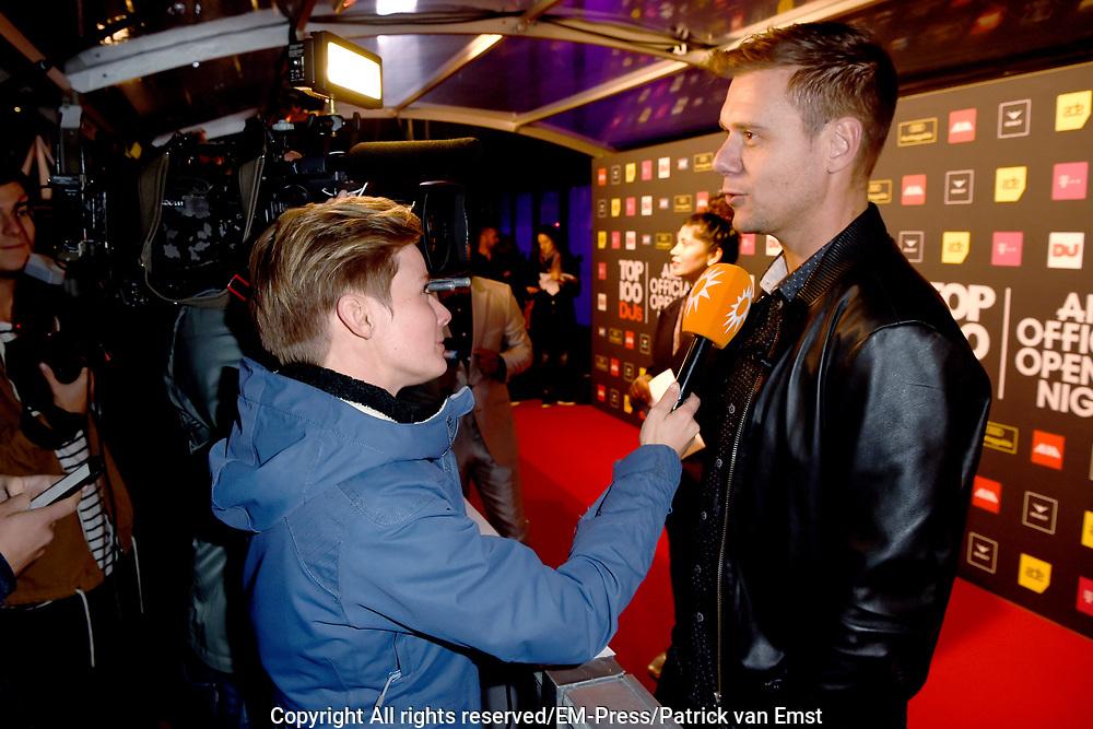 AMF Red Carpet Top 100 DJs Award Show in the Heineken Music Hall.<br /> <br /> On the photo:   Armin van Buuren