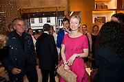 PATRICK DEMARCHELIER; LADY HELEN TAYLOR, Louis Vuitton openingof New Bond Street Maison. London. 25 May 2010. -DO NOT ARCHIVE-© Copyright Photograph by Dafydd Jones. 248 Clapham Rd. London SW9 0PZ. Tel 0207 820 0771. www.dafjones.com.