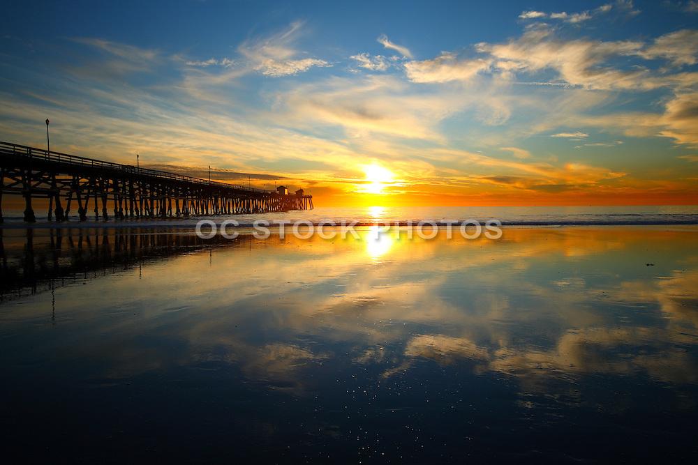 San Clemente Pier Reflections