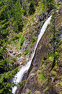 Upper Gorge Creek Falls in North Cascades National Park.