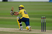 Shahid Afridi of Hampshire during the NatWest T20 Blast South Group match between Hampshire County Cricket Club and Somerset County Cricket Club at the Ageas Bowl, Southampton, United Kingdom on 29 July 2016. Photo by David Vokes.