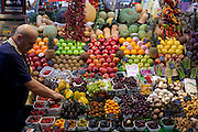 Fruit stall at the La Boqueria Market, Barcelona