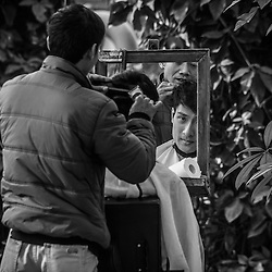 Vietnamese Barbers - Mirrors of the Past