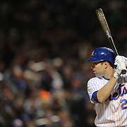 NEW YORK, NEW YORK - APRIL 27:  Neil Walker #20 of the New York Mets batting during the New York Mets Vs Cincinnati Reds MLB regular season game at Citi Field on April 27, 2016 in New York City. (Photo by Tim Clayton/Corbis via Getty Images)