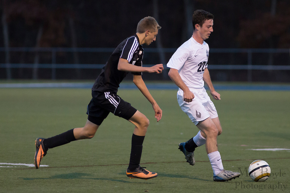 Bishop Eustace High School Boy's Soccer at St. Augustine Prep in Richland, NJ on Tuesday November 5, 2013. (photo / Mat Boyle)