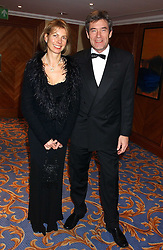 TV presenter TIFF NEEDELL and his wife PATSY at the annual SPARKS Winter Ball in the presence of HRH Princess Michael of Kent held at the London Hilton Hotel, Park Lane, London W1 on 15th December 2005.<br /><br /><br />NON EXCLUSIVE - WORLD RIGHTS