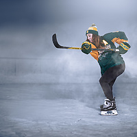 """I bring a fast pace and a hard shot and goodliness to the ice and I love skating and I love shooting…"""