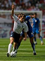 Photo: Glyn Thomas.<br />England v Paraguay. Group B, FIFA World Cup 2006. 10/06/2006.<br /> England's Michael Owen.