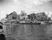 1957 - Exterior of Dublin Gas Company, Grand Canal Quay