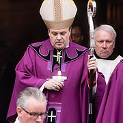 NLD/Rotterdam/20180220 - Herdenkingsdienst Ruud Lubbers, bisschop van den Ende