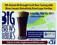 8th Annual Big Brews & Blues 2017