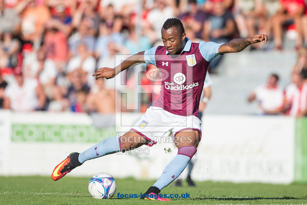 Jordan Ayew of Aston Villa during the pre season friendly match at Sportcentre Weinzoedl, Graz, Austria.<br /> Picture by EXPA Pictures/Focus Images Ltd 07814482222<br /> 09/07/2016<br /> *** UK &amp; IRELAND ONLY ***<br /> EXPA-IES-160709-0023.jpg
