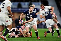 Greig Laidlaw of Scotland - Photo mandatory by-line: Patrick Khachfe/JMP - Mobile: 07966 386802 14/03/2015 - SPORT - RUGBY UNION - London - Twickenham Stadium - England v Scotland - Six Nations Championship