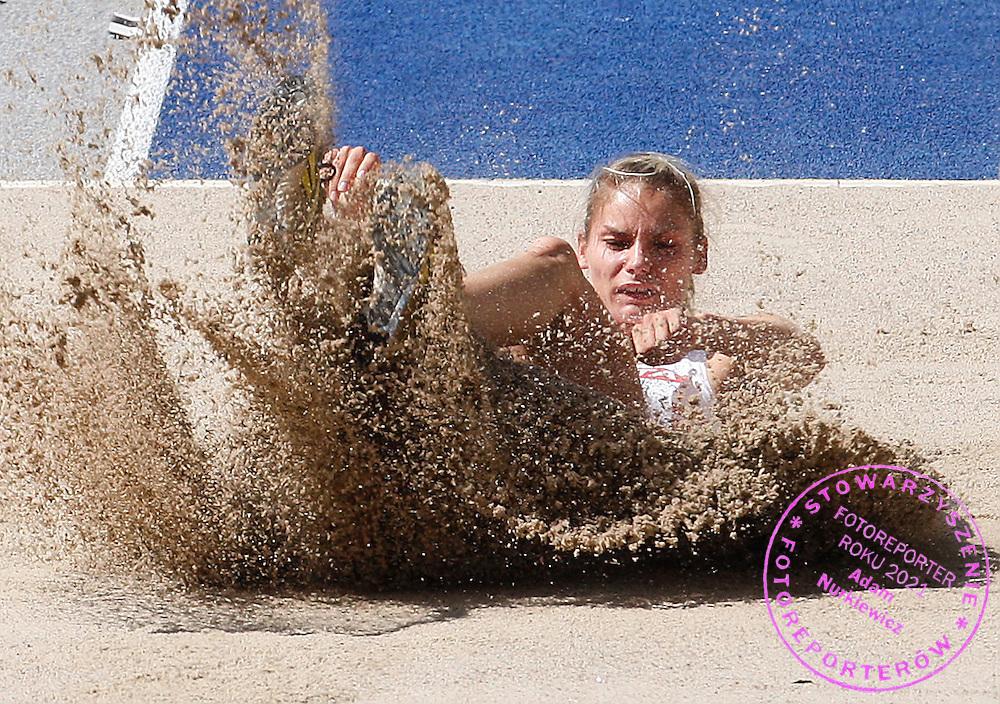 BERLIN 16/08/2009.12th IAAF World Championships in Athletics Berlin 2009.Heptathlon Long Jump Women .Kamila Chudzik of Poland ..Phot: Piotr Hawalej / WROFOTO