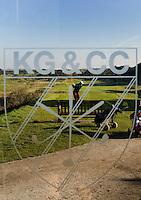 ZANDVOORT - De golfbaan van de Kennemer Golfclub, waar ook in 2008 het Dutch Open voor mannen zal worden gehouden. Op de foto: