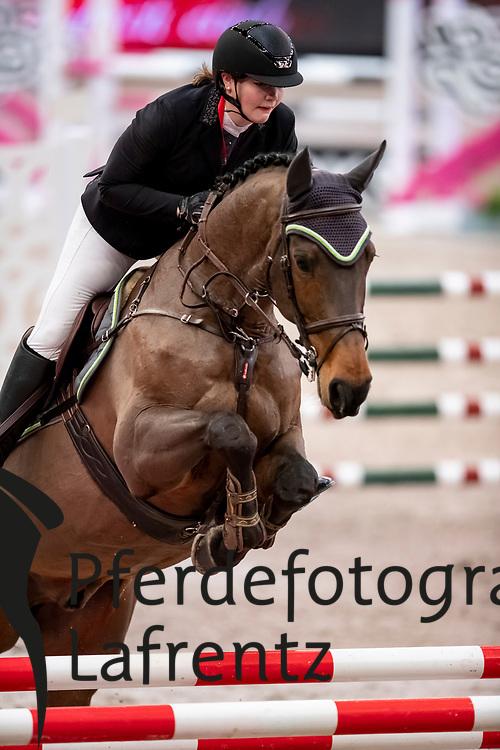 SEIBAL Hannah (GER), Cassini Royal<br /> Leipzig - Partner Pferd 2019<br /> SPOOKS-Amateur Trophy<br /> Small Tour<br /> 18. Januar 2019<br /> © www.sportfotos-lafrentz.de/Stefan Lafrentz
