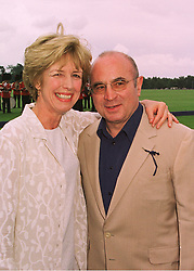 MR & MRS BOB HOSKINS, he is the actor, at a polo match in Berkshire on 14th June 1998.MII 78