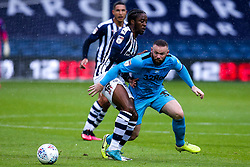 Wayne Rooney of Derby County takes on Romaine Sawyers of West Bromwich Albion - Mandatory by-line: Robbie Stephenson/JMP - 08/07/2020 - FOOTBALL - The Hawthorns - West Bromwich, England - West Bromwich Albion v Derby County - Sky Bet Championship