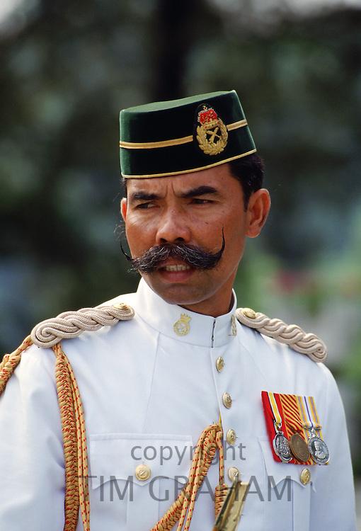 Military man, Malaysia.