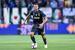 September 1, 2018 - Parma, Italy - Leonardo Bonucci of Juventus during Serie A match between  Parma v Juventus in Parma, Italy, on September 1, 2018. (Credit Image: © Giuseppe Maffia/NurPhoto/ZUMA Press)