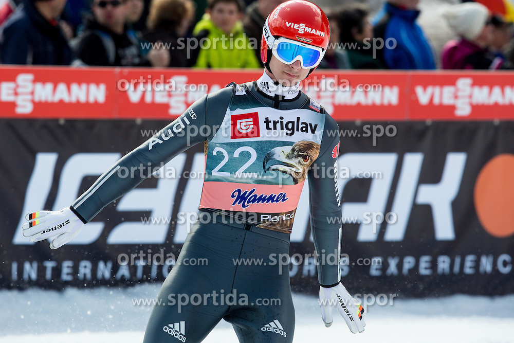 Andreas Wank of Germany during the Ski Flying Individual Qualification at Day 1 of FIS World Cup Ski Jumping Final, on March 19, 2015 in Planica, Slovenia. Photo by Vid Ponikvar / Sportida