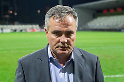 Tomaz Kavcic, head coach of Slovenia after the football match between U21 National Teams of Slovenia and Russia in 6th Round of U21 Euro 2015 Qualifications on November 15, 2013 in Stadium Bonifika, Koper, Slovenia. Russia defeated Slovenia 1-0. Photo by Vid Ponikvar / Sportida