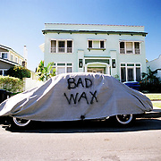 """Bad Wax"". Los Feliz/Franklin Hills area, Los Angeles, CA."
