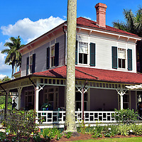 Seminole Lodge at Edison and Ford Winter Estates in Fort Myers, Florida<br />