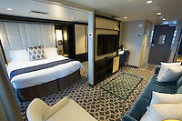 Royal Caribbean International launches Quantum of the Seas, the newest ship in the fleet, in November 2014<br /> <br /> Grand Loft Suite with balcony.
