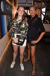 Tiggy Kennedy and her daughter Stella at the launch of Unit London Mayfair and Ryan Hewett The Garden Preview, Hanover Square, London, England. 26 June 2018.
